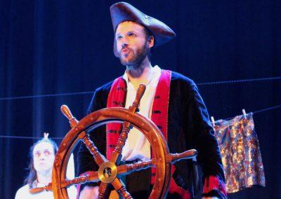 photo du diaporama de la pièce de théâtre l'atlantide de la compagnie Mascarille.