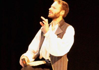 photo d'une scène de l'atlantide, du diaporama de la page descriptive de la pièce.