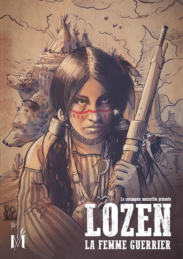 Affiche du spectacle Lozen par la Compagnie Mascarille