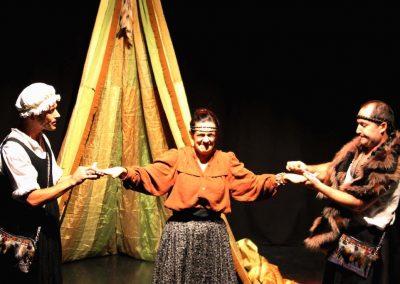 Lozen la femme guerrier - Pièce de théâtre - Cie Mascarille Marseille